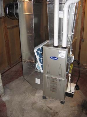 New Furnace Installation<br>After
